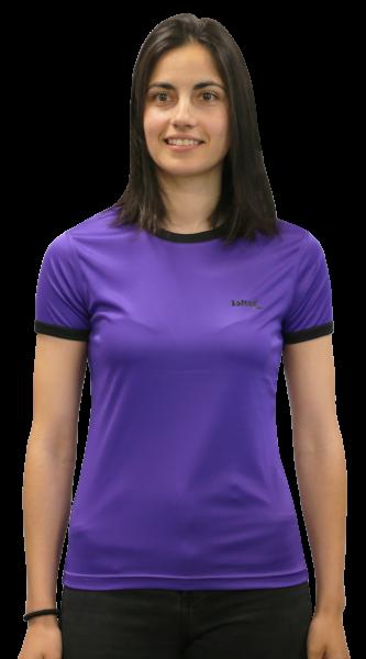 Camiseta Softee Padel Delta Mujer Violeta